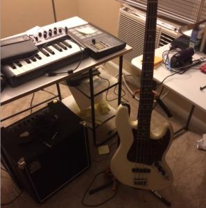 bass guitar rig