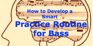 practice routine for bass guitar