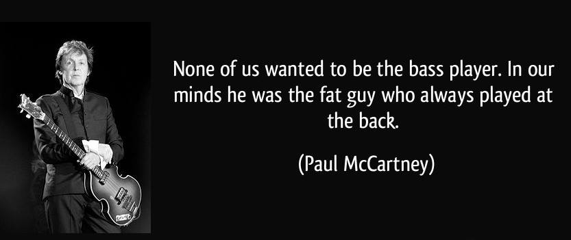 paul mccartney bass meme quote