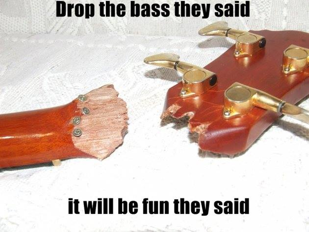 drop the bass they said