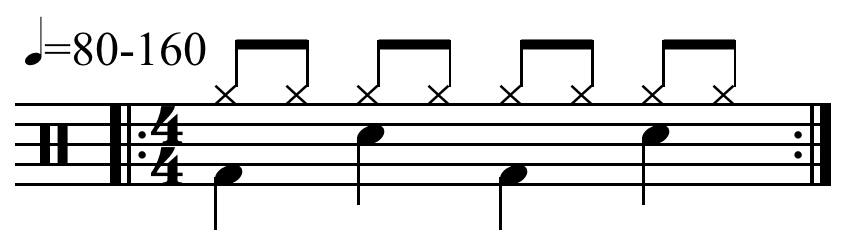 rock drum beat