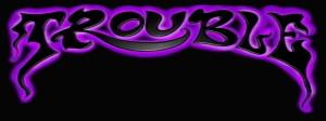 trouble_logo