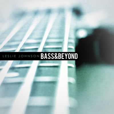 Leslie johnson bass and beyond album cover