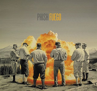 Phish's Fuego album cover