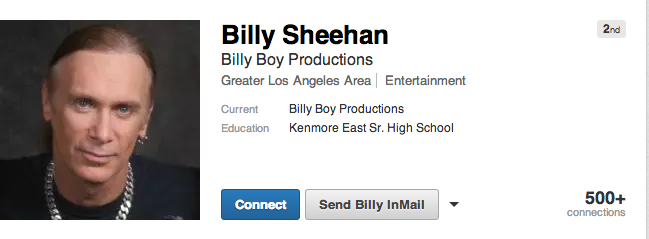 billy sheehan linkedin