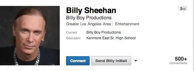 billy sheehan linkedin