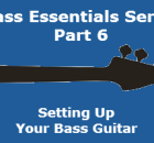 how to set up your bass guitar sbg