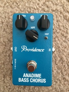 anadime bass chorus HPF setting test 1