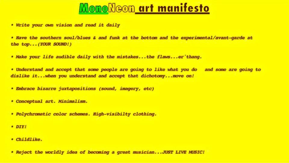 mononeon manifesto 1