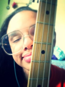 Deoindra Harrell bass guitar