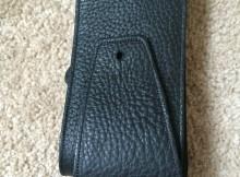 italia leather strap black