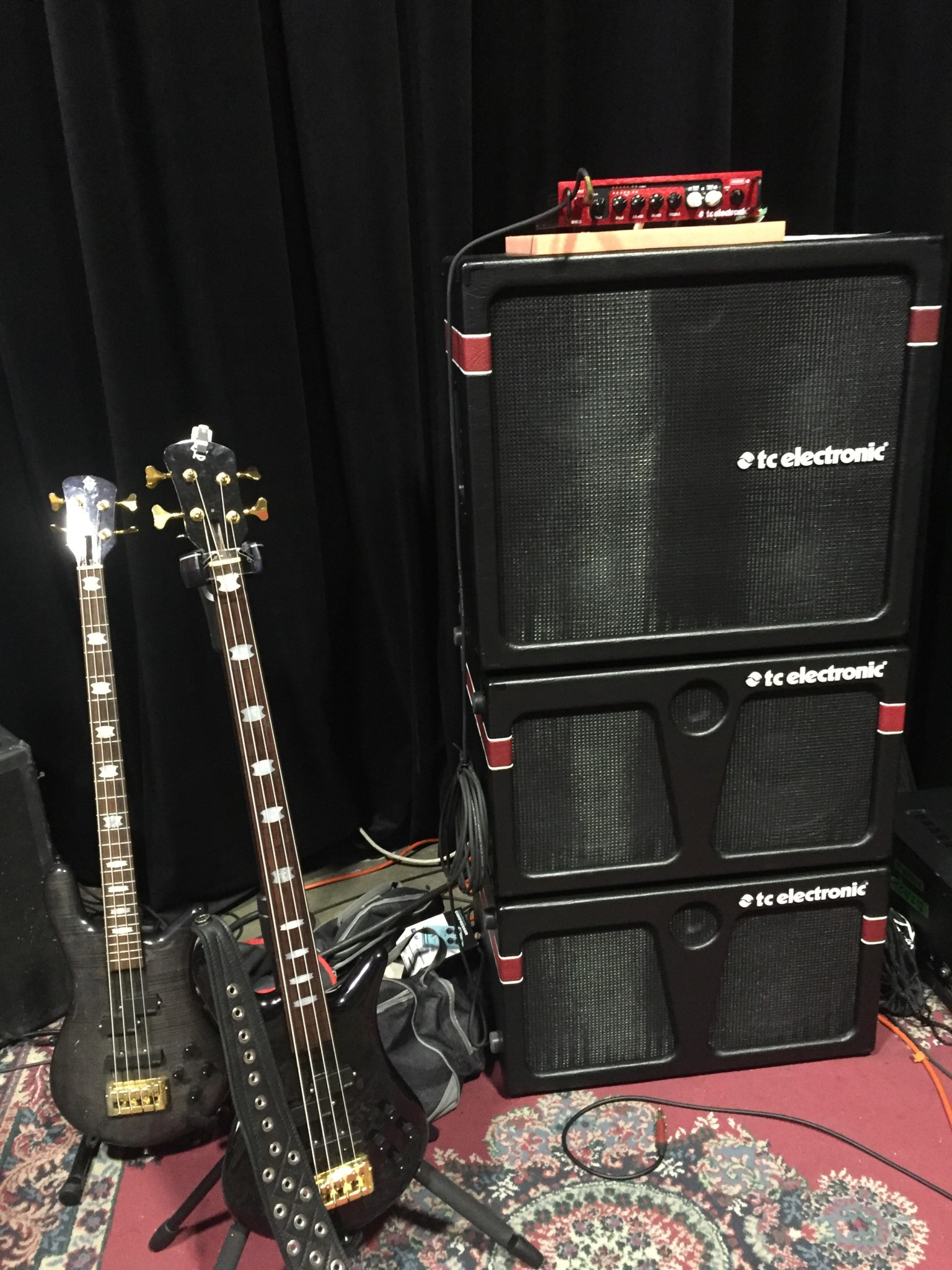 rudy sarzo bass player 2016 gear setup